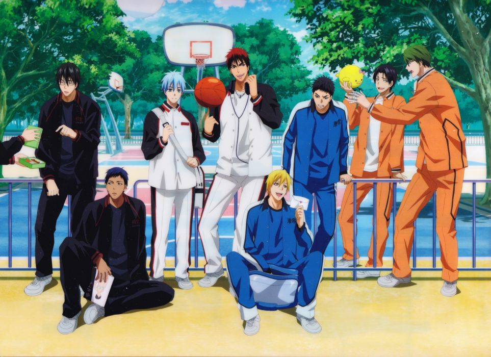 anime series character Kuroko no Basket Series Yukio Kasamatsu Character Taiga Kagami wallpaper