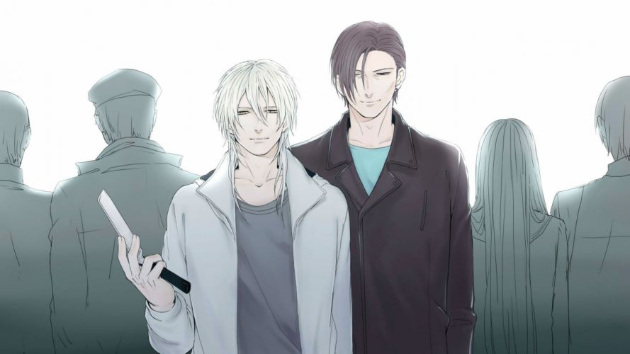 anime series character Psycho Pass Crowd wallpaper