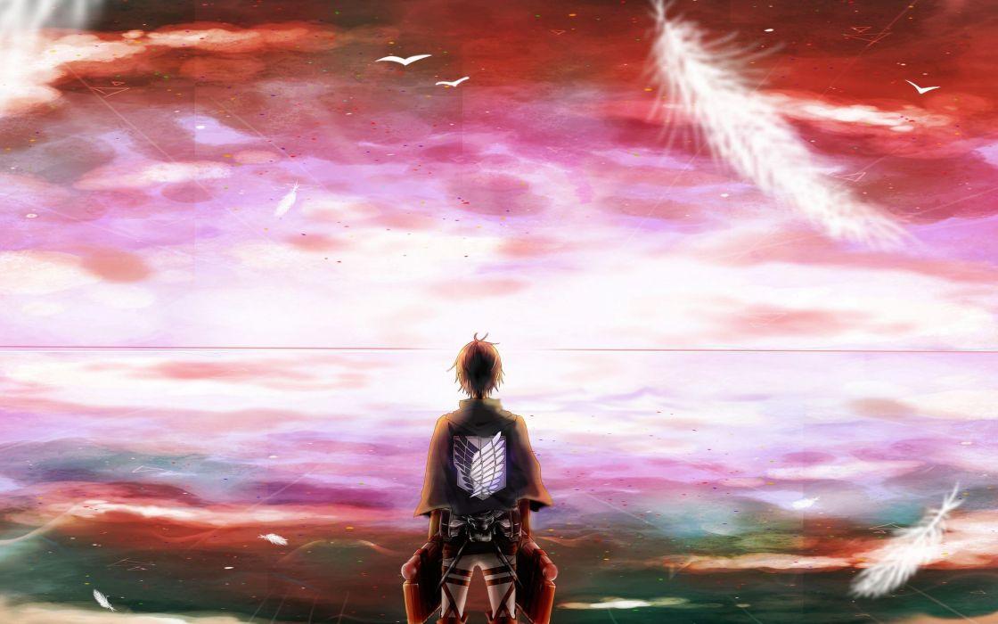 anime series character Shingeki No Kyojin wallpaper