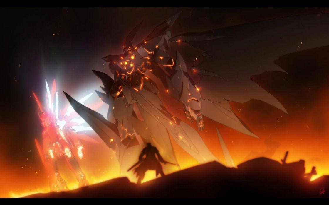 anime series character Weltall Id The Xenosaga wallpaper
