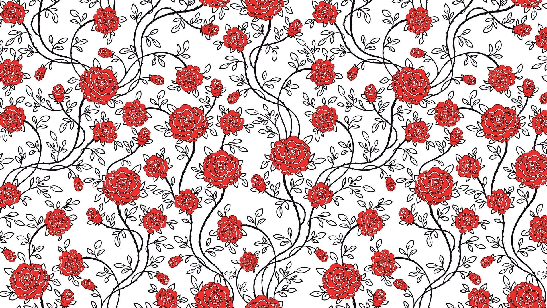 Flower Pattern Wallpaper Awesome Decoration