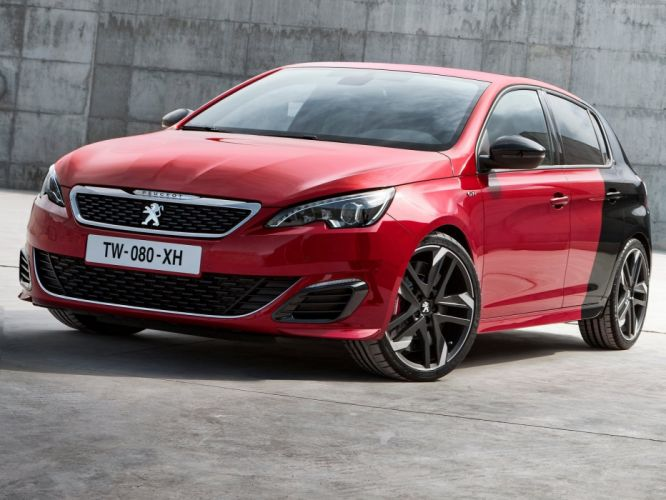 Peugeot 308 GTi cars 2016 french wallpaper