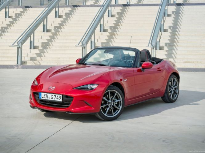 2016 cars convertible Mazda miata MX-5 roadster wallpaper