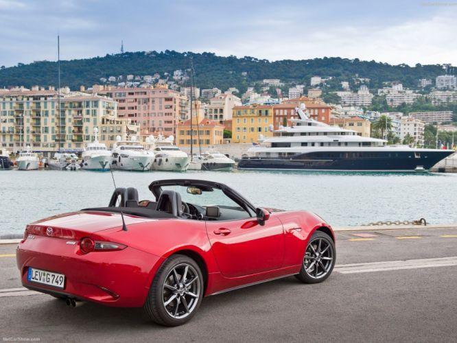2016 cars convertible Mazda miata MX-5 roadster wallpaper