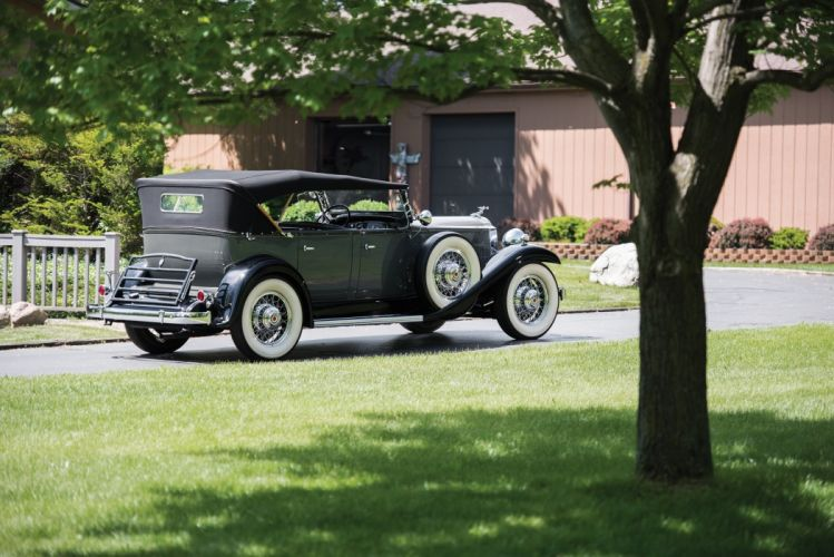 1932 Packard Standard Eight Phaeton classic cars wallpaper