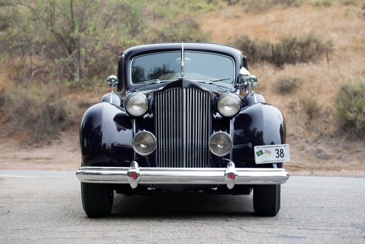 1938 Packard Twelve 5-passenger Touring Sedan classic cars wallpaper