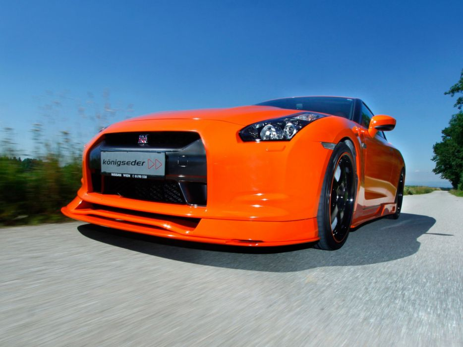 Koenigseder Nissan GT-R R35 coupe modified wallpaper