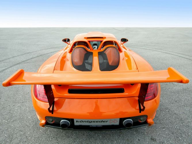Koenigseder Porsche Carrera-GT supercars modified cars wallpaper