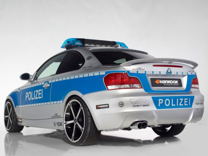 AC-Schnitzer bmw ACS1 Polizei Concept cars modified wallpaper