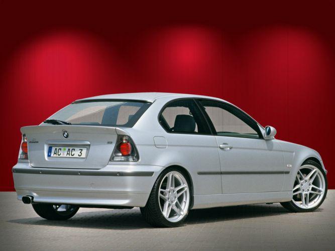 AC-Schnitzer ACS3 BMW e46 cars compact modified wallpaper