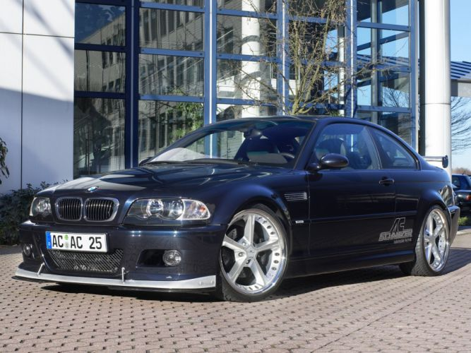 AC-Schnitzer ACS3 BMW e46 cars Coupe modified wallpaper