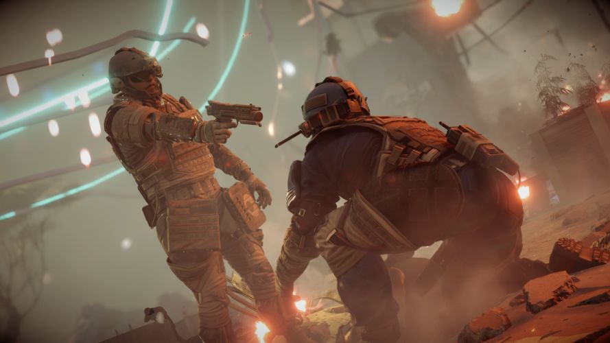 KILLZONE SHADOW FALL sci-fi shooter action fighting tactical stealth warrior armor wallpaper