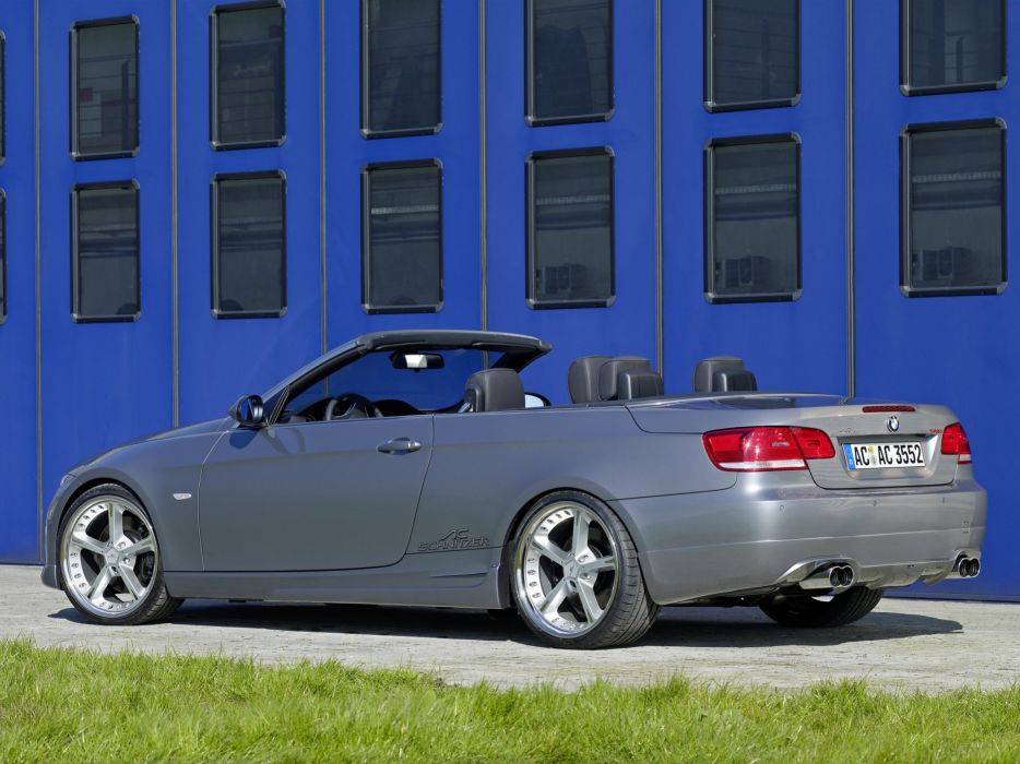 AC-Schnitzer acs3 BMW cars Turbo Cabriolet e93 modified Sport wallpaper