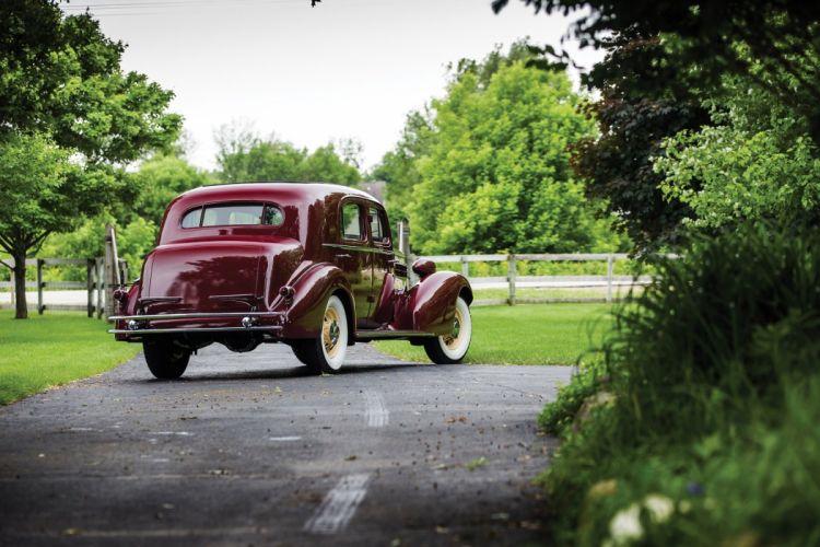 1934 Cadillac V12 370-D Town Sedan Fleetwood classic cars wallpaper