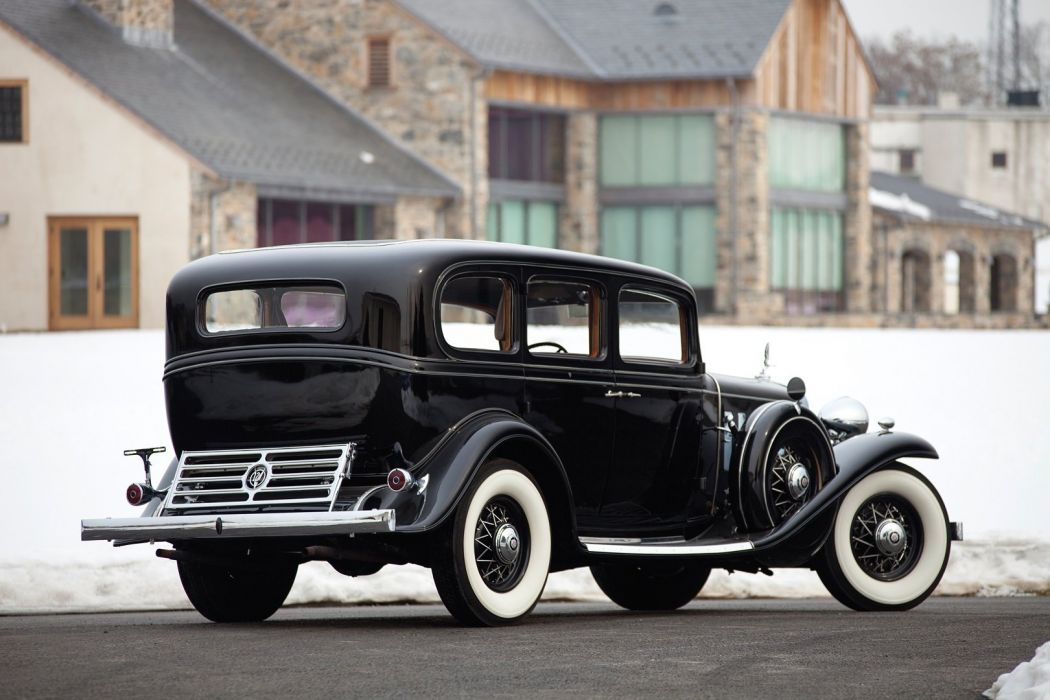1932 Cadillac V12 370-B Imperial Sedan Fisher classic cars wallpaper