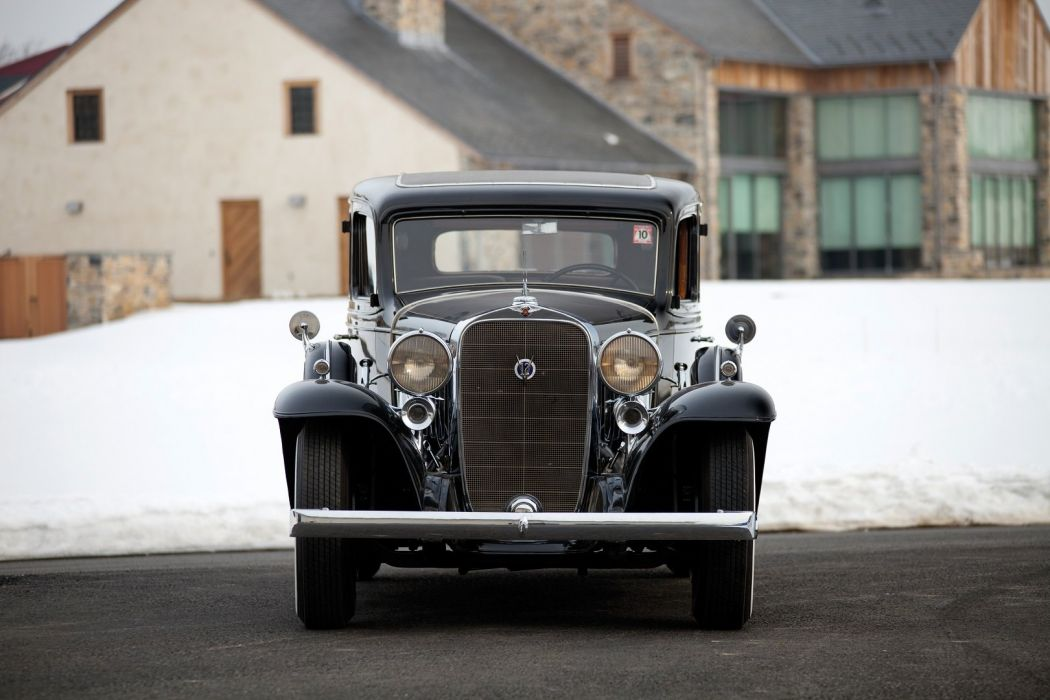 1932 Cadillac V12 370-B Imperial Sedan Fisher classic cars wallpaper