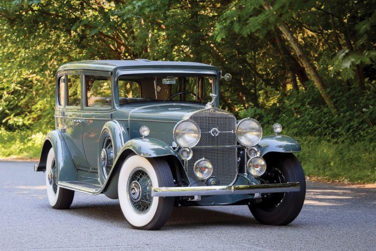 1931 Cadillac V12 370-A 5-passenger Sedan Fisher classic cars wallpaper
