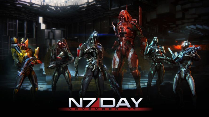 MASS EFFECT 4 Andromeda sci-fi shooter action futuristic warrior armor mmo online poster wallpaper