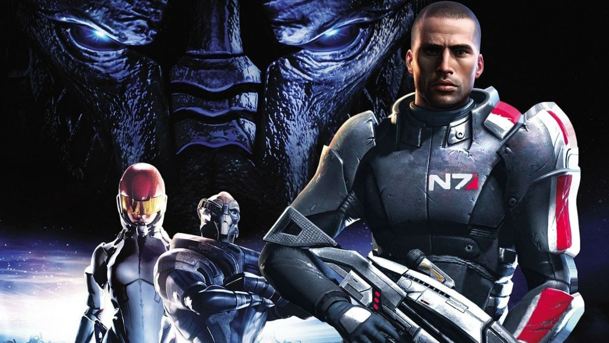 MASS EFFECT 4 Andromeda sci-fi shooter action futuristic warrior armor mmo online wallpaper