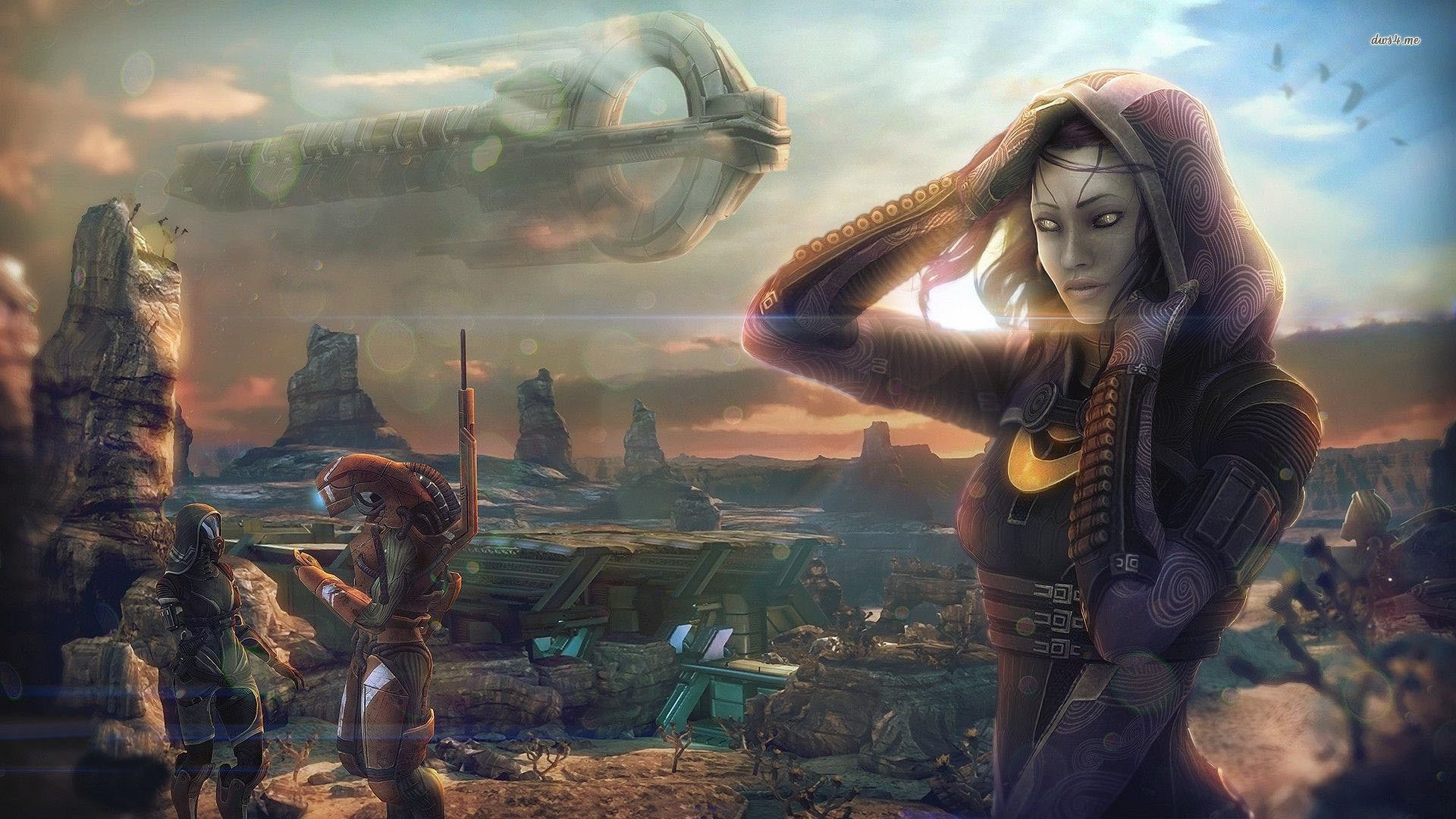 Mass Effect Andromeda 1920x1080: MASS EFFECT 4 Andromeda Sci-fi Shooter Action Futuristic
