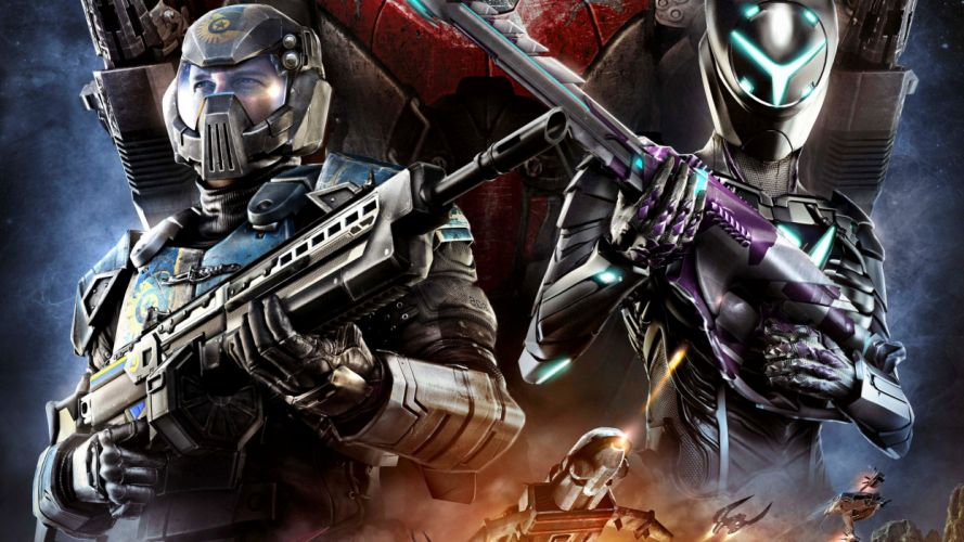 PLANETSIDE 2 sci-fi shooter futuristic sci-fi action warrior armor poster j wallpaper