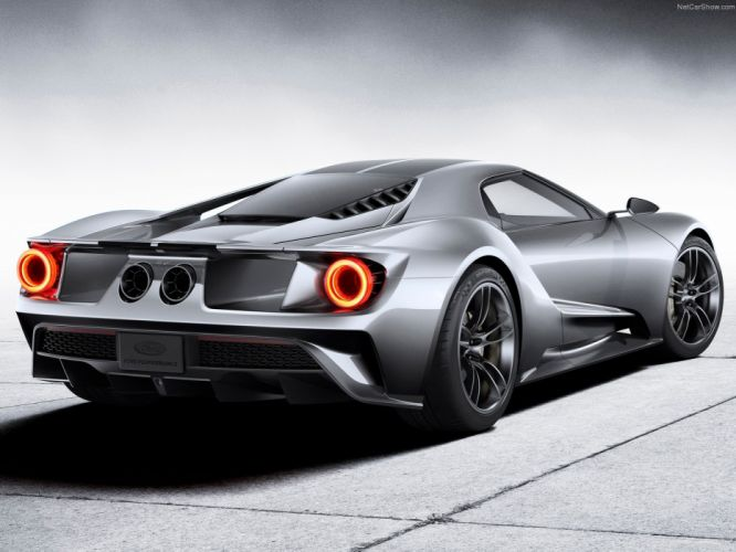 2017 Ford G-T muscle Supercar usa wallpaper