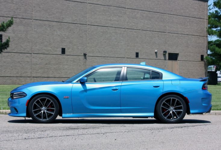 2015 Dodge Charger R-T Scat Pack cars sedan wallpaper