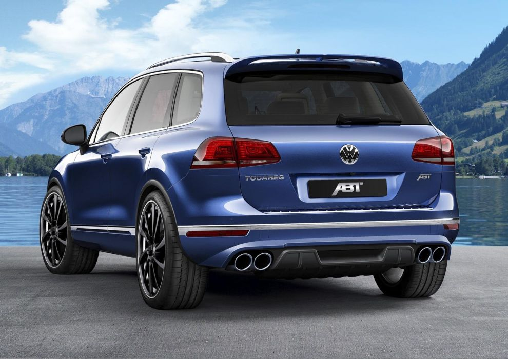 2015 Volkswagenn Touareg 3 0-litres TDI ABT cars suv modified wallpaper