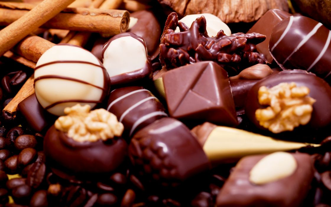 Chocolate Candy Food Sweets wallpaper