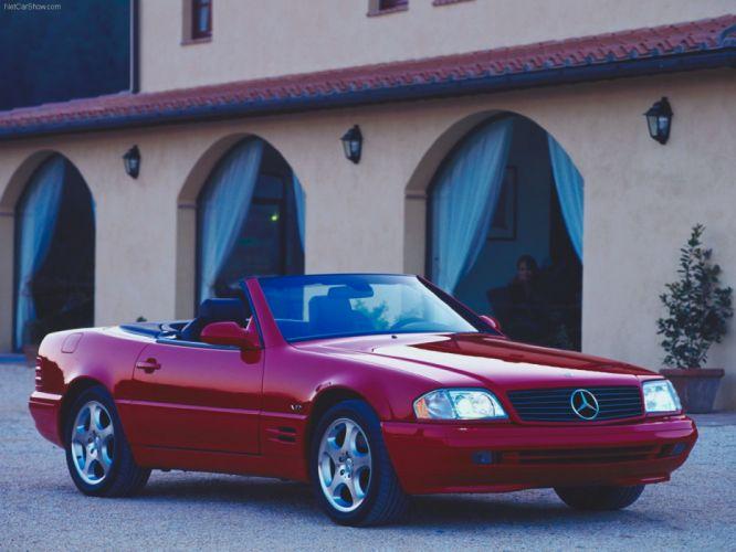 Mercedes-Benz SL-Class cars convertible 1999 wallpaper