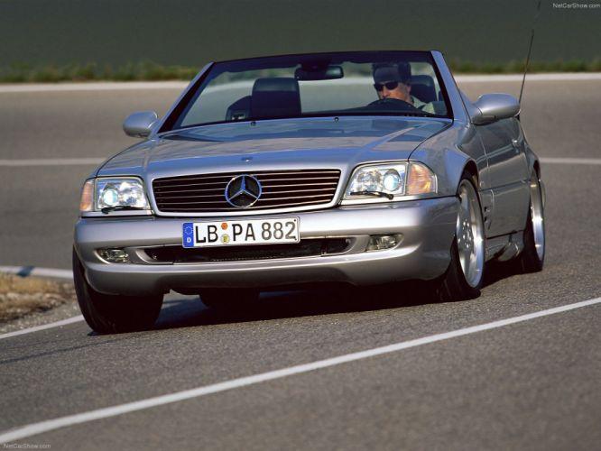 Mercedes-Benz SL73 AMG cars convertible 1999 wallpaper
