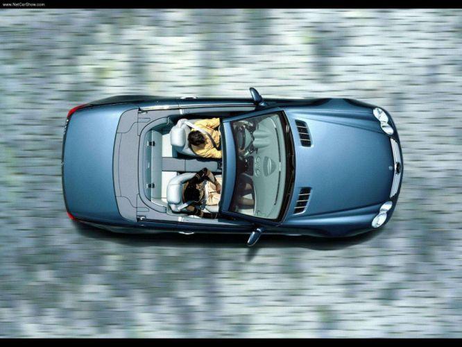 Mercedes-Benz SL-500 cars convertible 2003 wallpaper