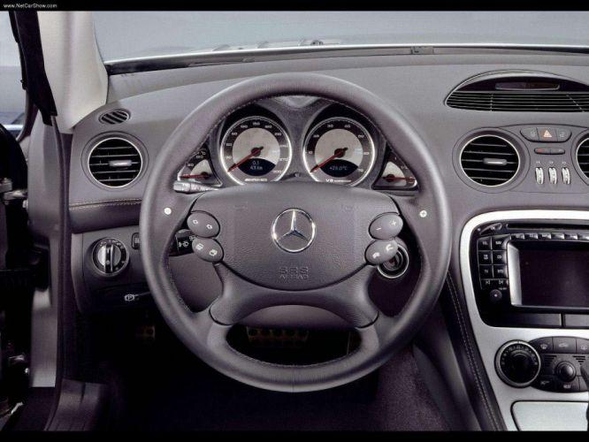 Mercedes-Benz SL-55 amg cars convertible 2003 wallpaper