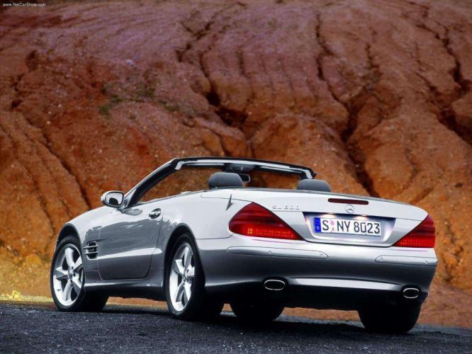Mercedes-Benz SL-600 cars convertible 2003 wallpaper