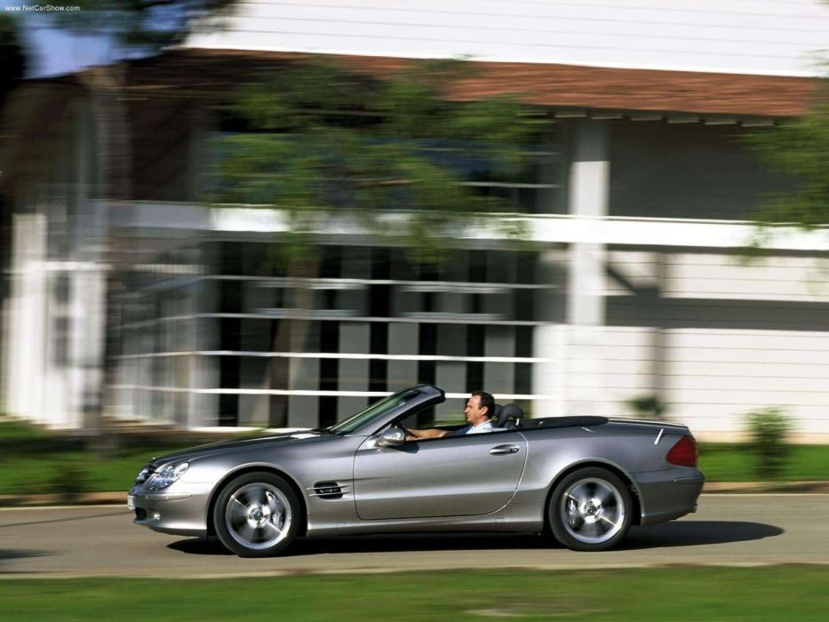 Mercedes-Benz SL-600 cars convertible 2003 wallpaper