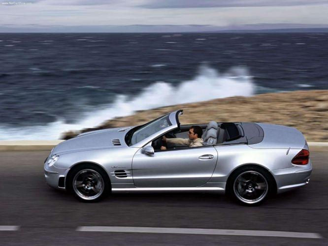 Mercedes-Benz SL-65 amg cars convertible 2004 wallpaper