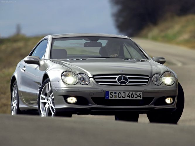 Mercedes-Benz SL-500 cars convertible 2006 wallpaper