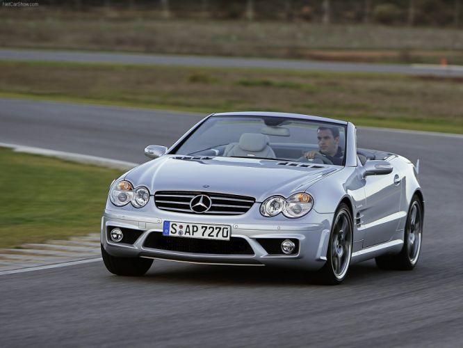 Mercedes-Benz SL-65 amg convertible cars 2006 wallpaper