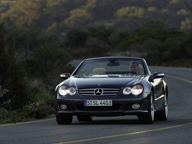 Mercedes-Benz SL-600 convertible cars 2006 wallpaper