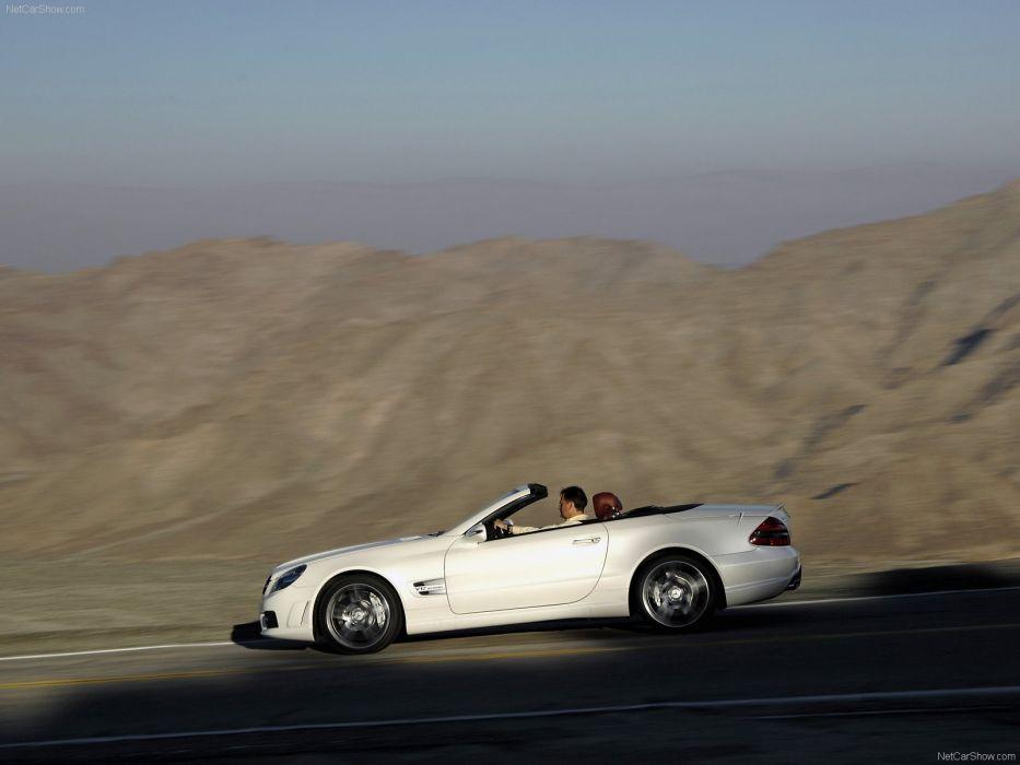 Mercedes-Benz SL-65 amg convertible cars 2009 wallpaper