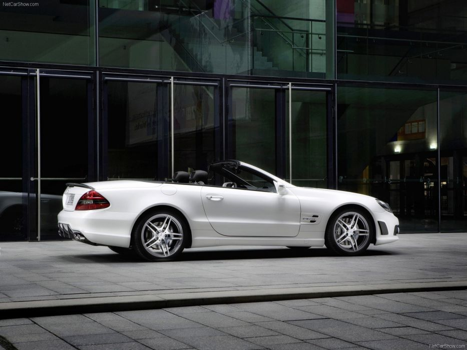Mercedes-Benz SL-63 amg Edition IWC convertible cars 2009 wallpaper