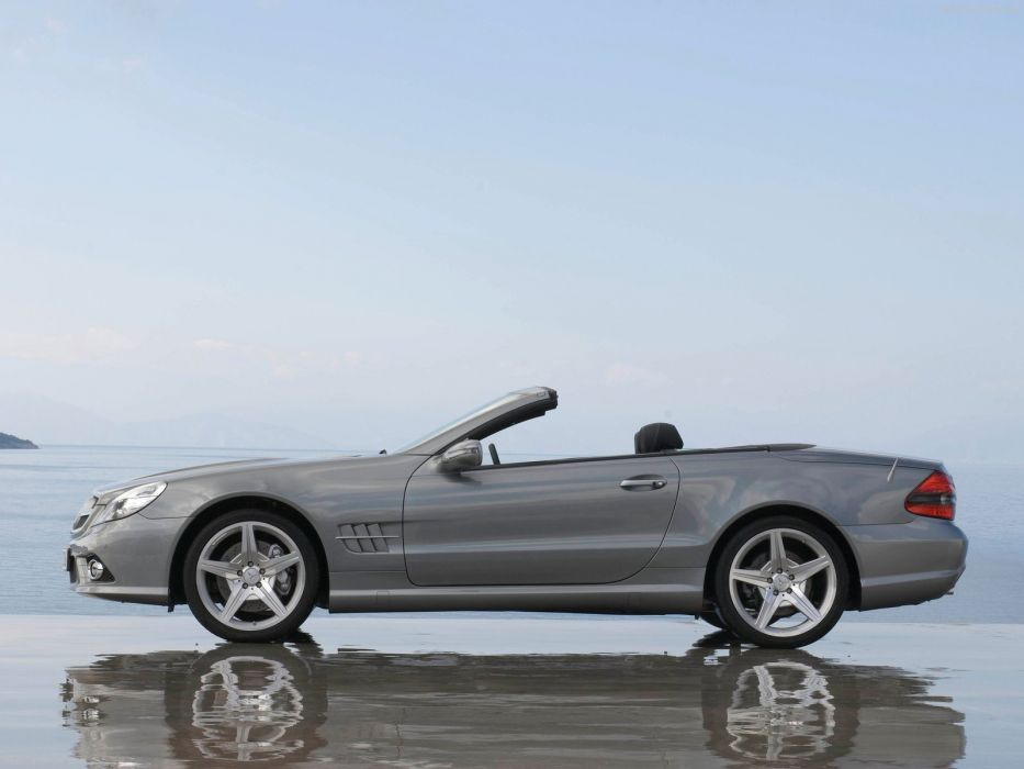 Mercedes-Benz SL-350 convertible cars 2009 wallpaper
