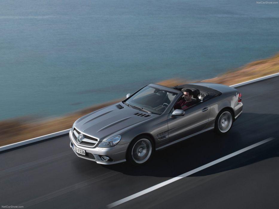Mercedes-Benz SL-350 convertible cars 2009 wallpaper