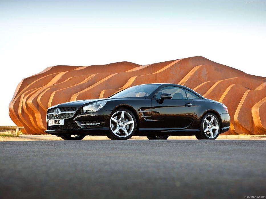 Mercedes-Benz SL-500 convertible cars 2013 wallpaper
