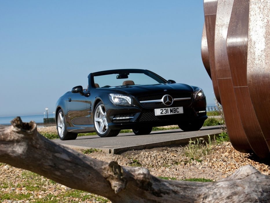 Mercedes-Benz SL-500 convertible cars 2013 wallpaper