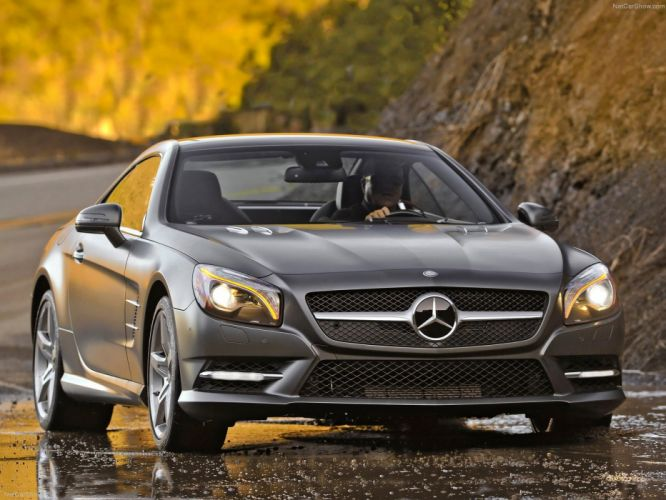 Mercedes-Benz SL-550 convertible cars 2013 wallpaper
