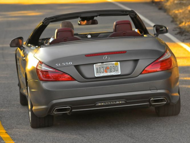 Mercedes-Benz SL-550 convertible cars 2013 wallpaper