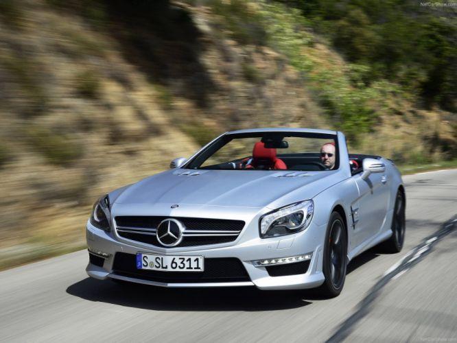 Mercedes-Benz SL-63 amg convertible cars 2013 wallpaper