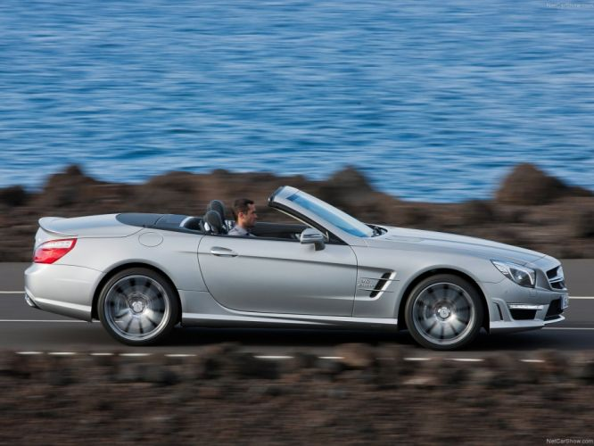 Mercedes-Benz SL-63 amg convertible cars 2013 wallpaper