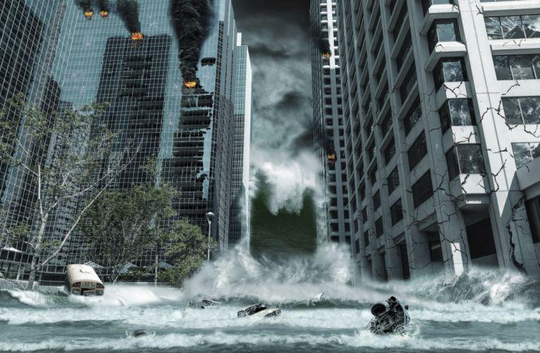 SAN ANDREAS action earthquake disaster adventure apocalyptic rock wwe drama thriller wallpaper